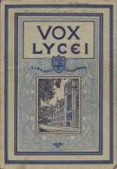 Vox Lycei 1929-1930