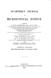 Quarterly Journal of Microscopical Science: Volume 43