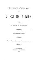 Reveries of a Young Man in Quest of a Wife PDF