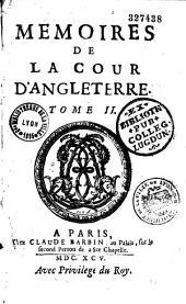 Mémoires de la cour d'Angleterre, par Madame D... (d'Aulnoy)