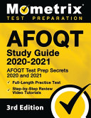 Afoqt Study Guide 2020 2021   Afoqt Test Prep Secrets 2020 and 2021  Full Length Practice Test  Step By Step Review Video Tutorials   3rd Edition  PDF