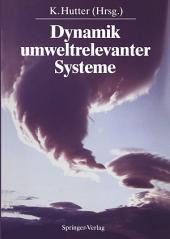 Dynamik umweltrelevanter Systeme