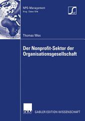Der Nonprofit-Sektor der Organisationsgesellschaft