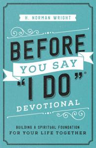 Before You Say  I Do    Devotional Book