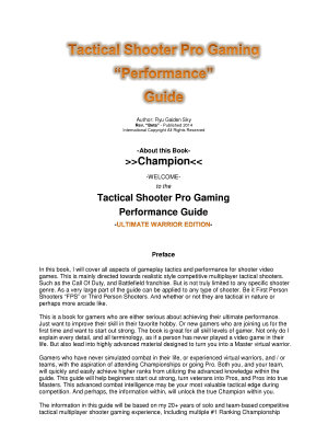 Tactical Shooter Pro Gaming Performance Guide