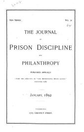 The Journal of Prison Discipline and Philanthropy: Volume 31