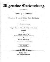 Allgemeine Gartenzeitung: Band 8