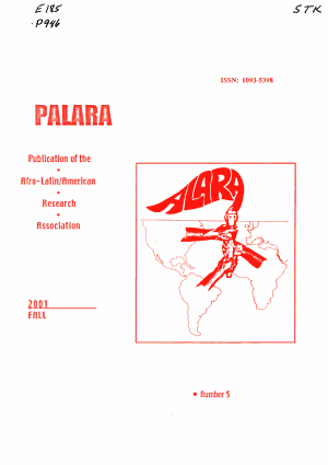 Publication of the Afro Latin American Research Association PDF
