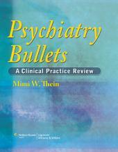 Psychiatry Bullets