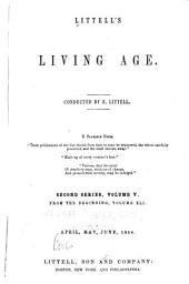 Littell's Living Age: Volume 41