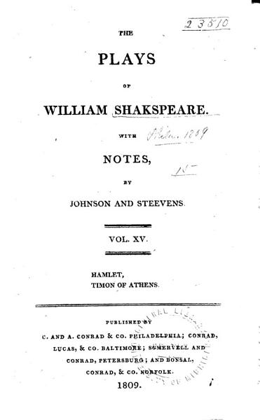 Download Hamlet  Timon of Athens Book