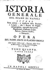 Istoria generale del Reame di Napoli: Volumi 3-4