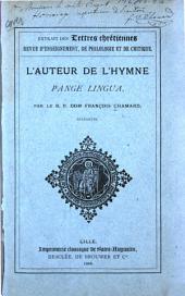 L'auteur de l'hymne Pange lingua