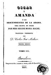 Oscar y Amanda, ó, Los descendientes de la abadia