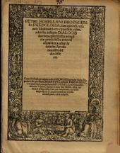Petri Mosellani Protegensis, Paedologia