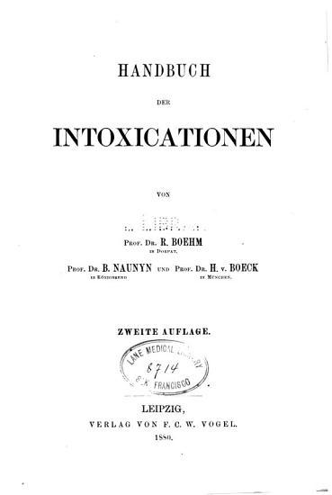 Handbuch der speciellen Pathologie und Therapie  v 15   2nd ed   1880 PDF