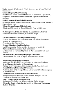 Journal of the African Literature Association PDF