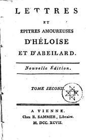 LETTRES ET ÉPITRES AMOUREUSES.: TOME SECOND, Volume2