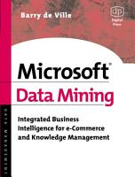 Microsoft Data Mining PDF