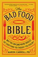 The Bad Food Bible PDF