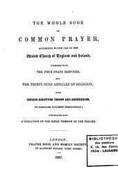 The Whole Book Of Common Prayer Book PDF