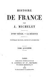 Histoire de France: La Régence
