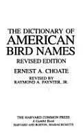 The Dictionary of American Bird Names PDF
