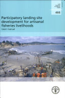 Participatory Landing Site Development for Artisanal Fisheries Livelihoods
