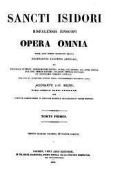 Opera omnia: Volumes 1-2