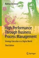 High Performance Through Business Process Management PDF