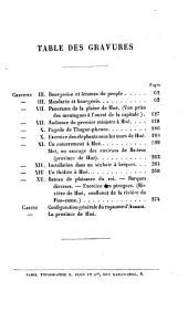 Le royaume d'Annam et les Annamites: journal de voyage