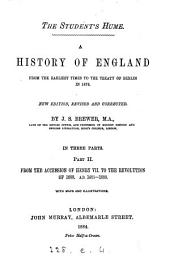 The student's Hume. A history of England, based on the History of D. Hume, continued to 1878: Part 2