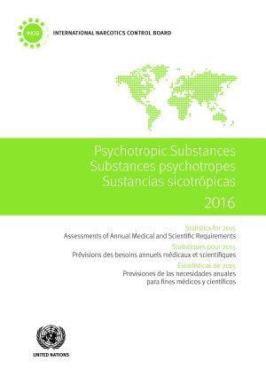 Psychotropic Substances 2016 PDF