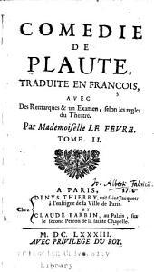 Comedie de Plaute