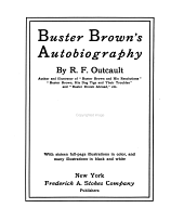 Buster Brown's Autobiography