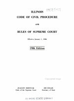Illinois Code of Civil Procedure and Rules of Supreme Court