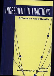 Ingredient Interactions Book