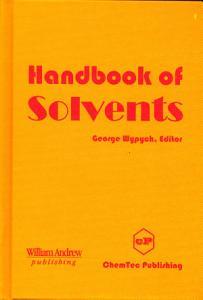 Handbook of Solvents