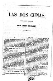 Las Dos cunas: novela escrita en francés