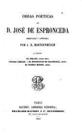 Obras poeticas de d. José de Espronceda