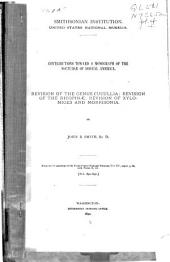 Contributions Toward a Monograph of the Noctuidae ...