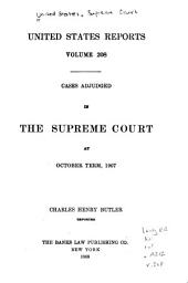 United States Reports: Cases Adjudged in the Supreme Court at ... and Rules Announced at ..., Volume 208