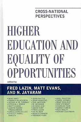 Higher Education and Equality of Opportunity PDF