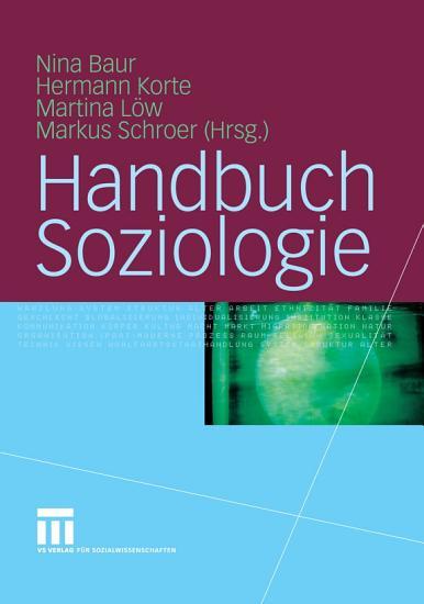 Handbuch Soziologie PDF