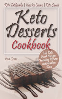 Keto Desserts Cookbook