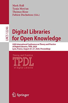 Digital Libraries for Open Knowledge PDF