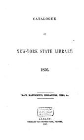 Catalogue of the New-York State Library: 1855/56, Volume 3