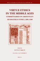 Virtue Ethics in the Middle Ages PDF