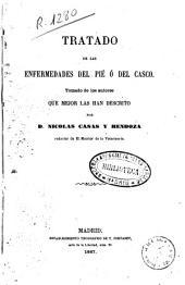 Tratado de las enfermedades del pie o del casco