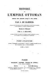 Histoire de l'Empire ottoman, depuis son origine jusqu'à nos jours: Volume5